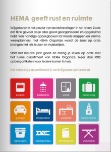 HEMA Organize