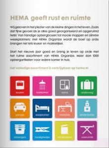 HEMA Organizen