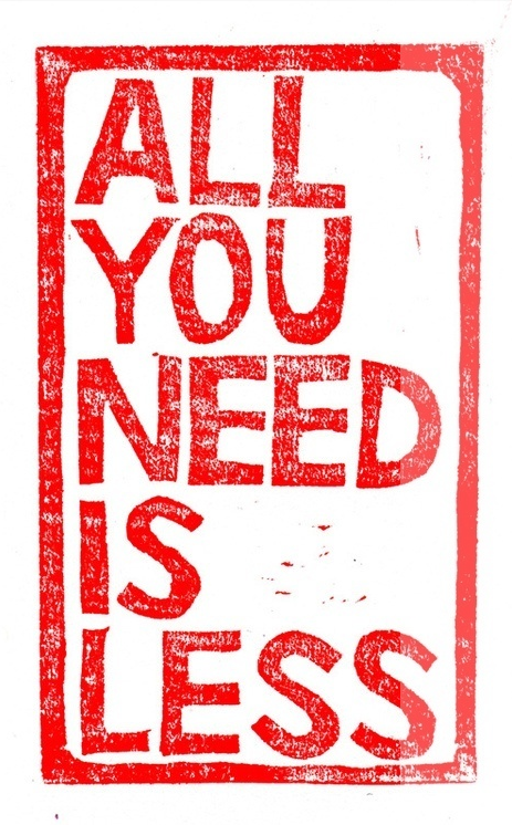 Landelijke loslaatdag: All you need is less