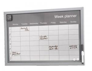 Duidelijke weekplanner voor meerdere gezinsleden