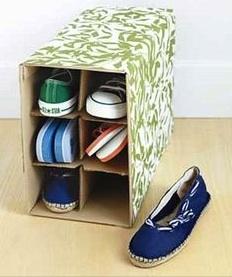 Tip Opbergen: Slippers en platte schoenen